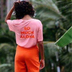 NWT so much aloha shirt